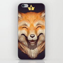 Happy Fox iPhone Skin