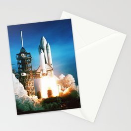 Space Shuttle Launch Stationery Cards