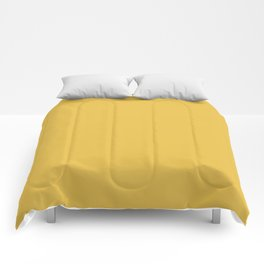 Mustard Yellow  Solid Colour Comforters