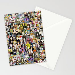 Face Mask Detour Party Stationery Cards