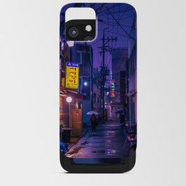 Purple Alleys of Korea iPhone Card Case