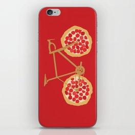 Bicycle Pizza Wheels iPhone Skin