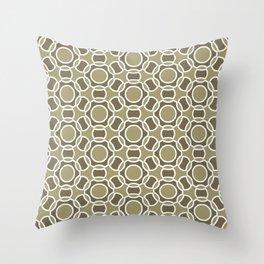 Modern Times 2.0 Pattern - Design No. 3 Throw Pillow