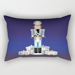 Little Drummer Boy on Christmas Eve Rectangular Pillow