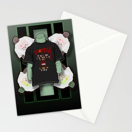 Jade Manikin Stationery Cards