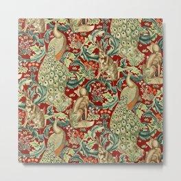 """William Morris """"Forest"""" 2. Metal Print"""