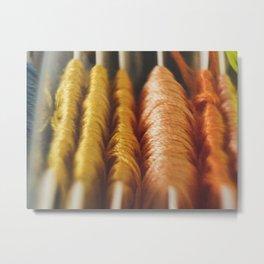 Threads Metal Print