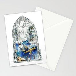 Wizard Window of Wisdom Stationery Cards