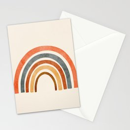 Abstract Rainbow 88 Stationery Cards