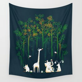 Re-paint the Forest Wall Tapestry