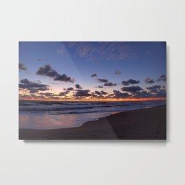 Dawn at Virginia Beach Metal Print