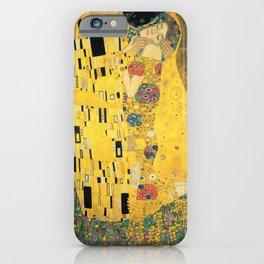 THE KISS - GUSTAV KLIMT iPhone Case