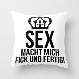 Sex Throw Pillow