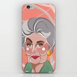 Golden Girls - Dorothy Zbornak iPhone Skin