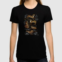 Cheetah Collection – Mocha & Black Palette T-shirt