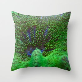 Underwater Coral Reef Throw Pillow