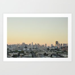 San Francisco Panorama Art Print
