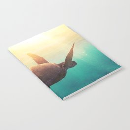 Sea Turtle - Underwater Nature Photography Notebook
