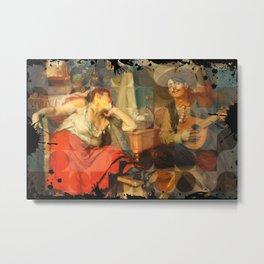 fado folk music, Portugal Metal Print