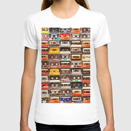Something Nostalgic V - Music - Global Language #decor #society6 #buyart T-shirt