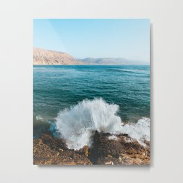 Ocean Power Metal Print