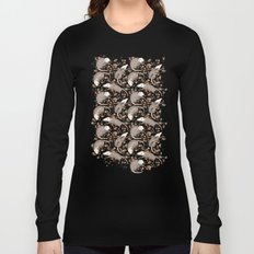Opossum and Roses Long Sleeve T-shirt
