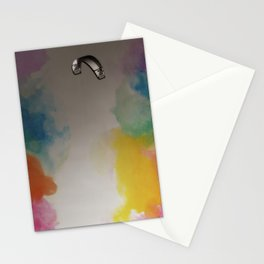 Parakite Warm 2 (watercolor mashup) Stationery Cards