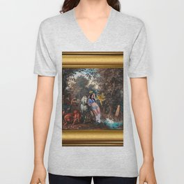In the Land of Gods and Monsters, I was an Angel Unisex V-Neck