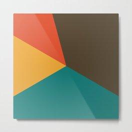Geometric Minimalist 01 Metal Print