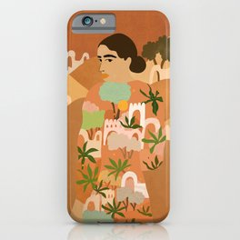 Freedom in Morocco iPhone Case