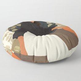 Living in Movement Floor Pillow