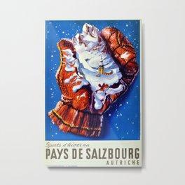 Vintage poster - Pays de Salzbourg Metal Print