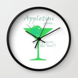 Appletini JD Wall Clock