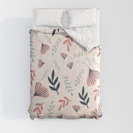 Colorful Floral Seamless Design Comforters