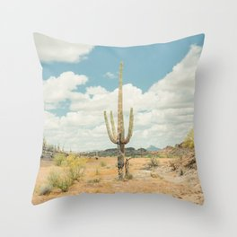 Old West Arizona Throw Pillow