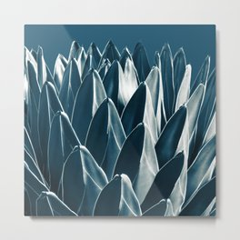 Agave Chic #5 #succulent #decor #art #society6 Metal Print