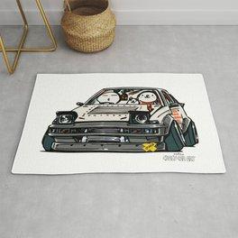 Crazy Car Art 0135 Rug
