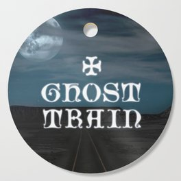 Ghost Train Cutting Board