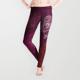 Hamsa Hand Print Leggings