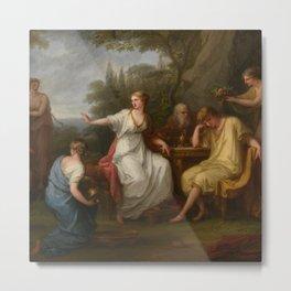 The Sorrow of Telemachus, Angelica Kauffmann  Metal Print