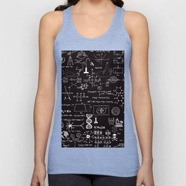 Science Madness Unisex Tank Top