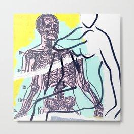 Bare Bones Metal Print