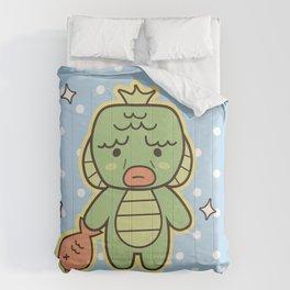 Kawaii Little Swamp Creature Comforters