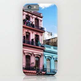 On the streets of Havana, Cuba iPhone Case