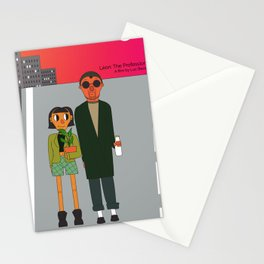 Léon: the Professional Stationery Cards