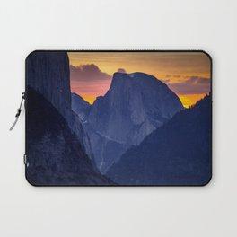 Half Dome Sunrise ~ Yosemite National Park Laptop Sleeve