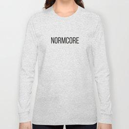 NORMCORE Long Sleeve T-shirt