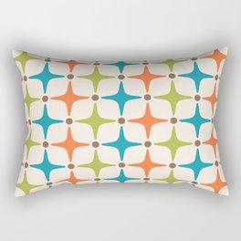 Mid Century Modern Star Pattern 323 Rectangular Pillow