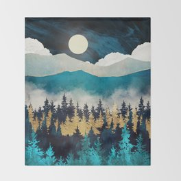 Evening Mist Throw Blanket