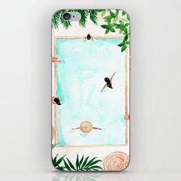 Pool Day iPhone Skin